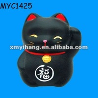 Feng shui mini lucky cat figurines