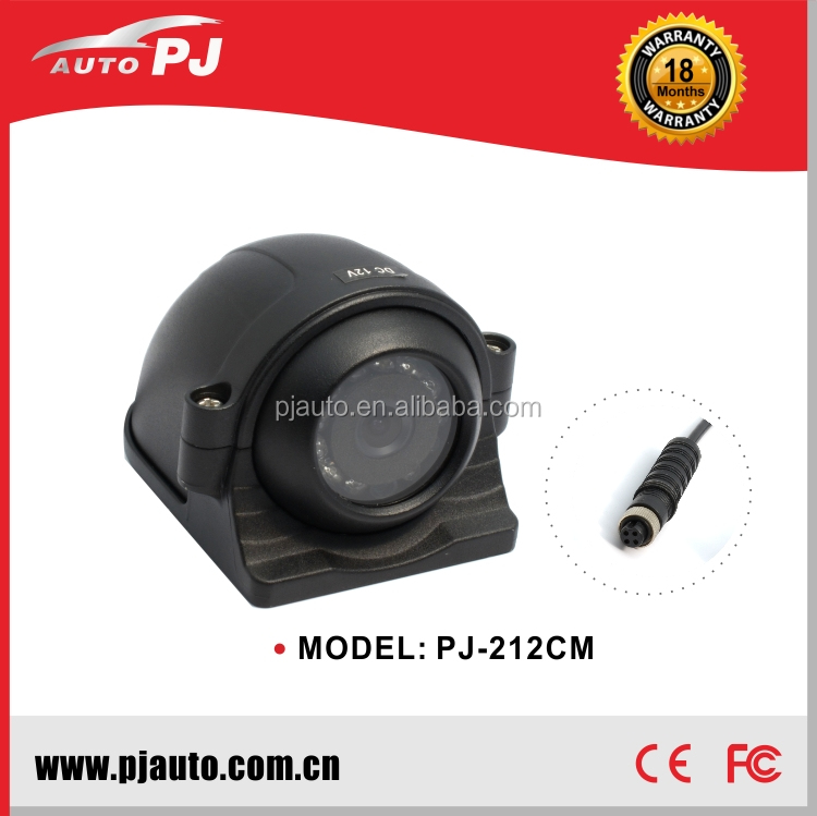 "1/3"" Sony CCD Rotatable Lens Angle Bus/Truck Rear/Side View Reversing Camera (PJ-212CM)"