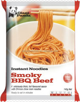 instant pasta noodles--smoky BBQ beef