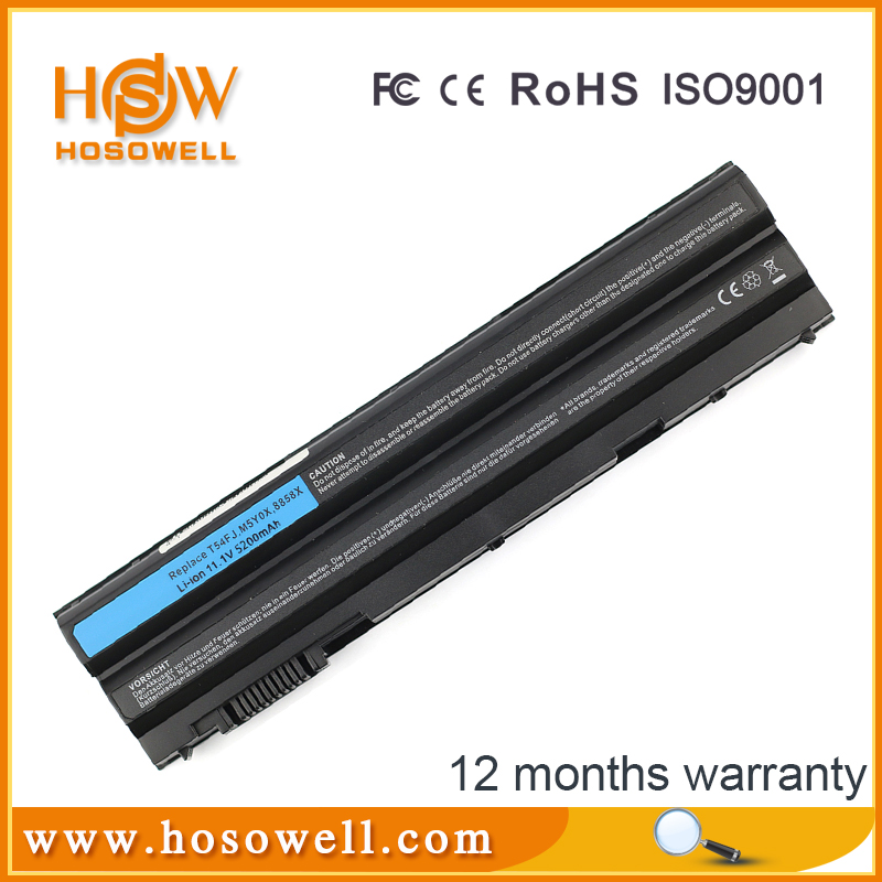 11.1V laptop battery 6cell for Dell Latitude E5420 E6420 E6430 E6520 E6530 E5520 E5430