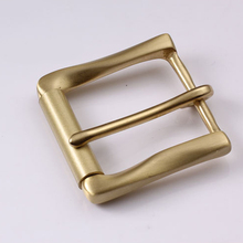 High quality solid brass belt buckles for men