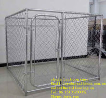 Heavy duty hot dip galvanized wire woven chain link dog runs