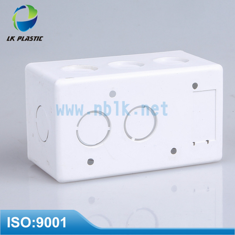 120*120*56mm National Standard White junction box