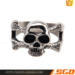 Hip Hop Skull ring cheap bulk jewelry