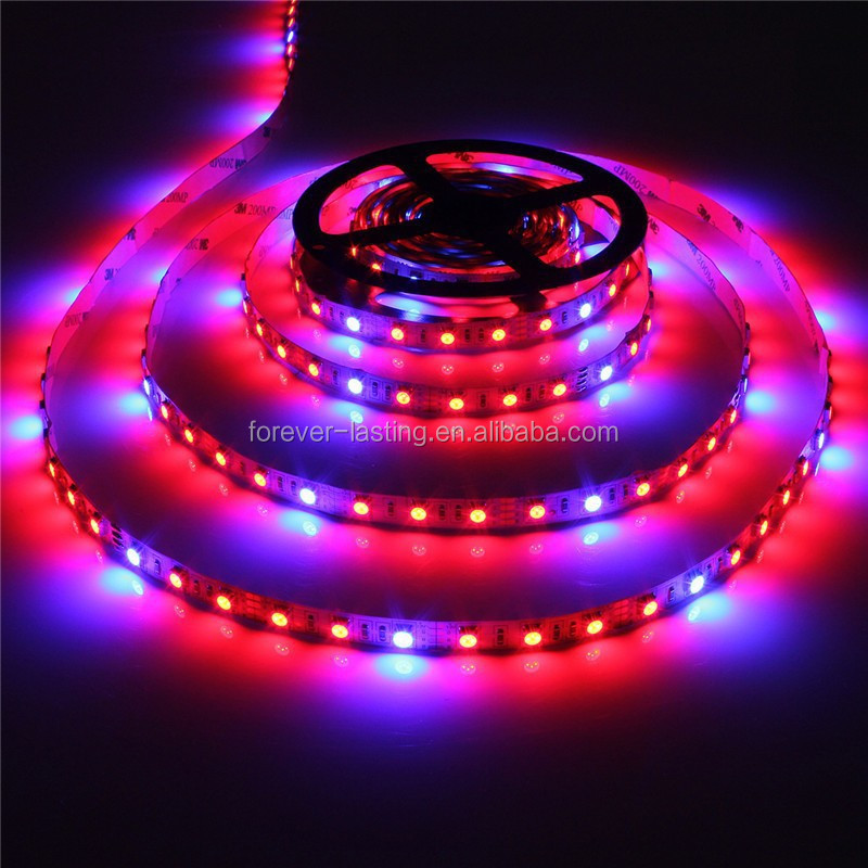 Growing Led Strip Light For Aquarium greenhouse Hydroponic Systems Waterproof Plant Grow Lamp 4 Red 1 Blue Grow Tent