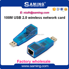 Portable Wireless USB 2.0 to RJ45 Fast Ethernet Adapter/ lan card