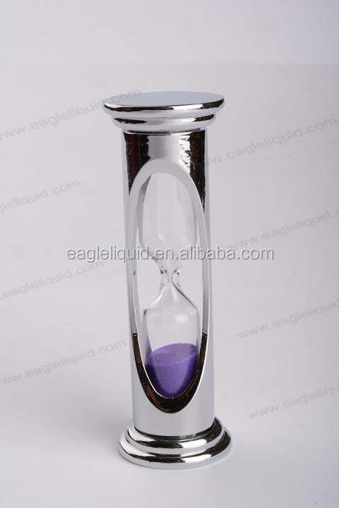 1, 3, 5, 10 ,15 Minutes Metal Glass Sand Timer Hourglass