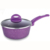 New style marble ceramic coating high quality and best selling forged saucepan