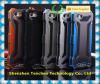 Gundam II R-just Case, Shockproof Dustproof tough Gorilla Glass Aluminum Metal Case for IPhone 5 6 6s 6plus