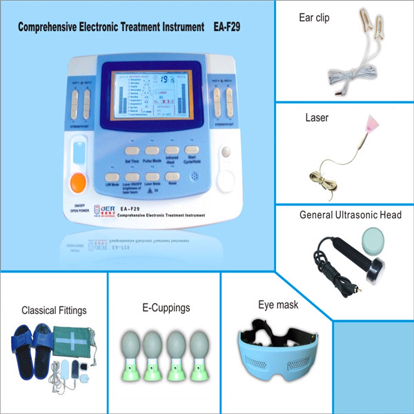 Mini electronic Far-Infrared thermotherapeutic bioresonance therapy machine healphysiotherapy theapy equipment