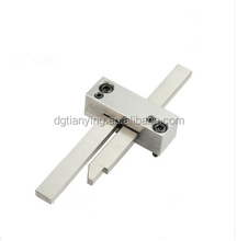 Latch lock for plastic die cast strack standard mold part