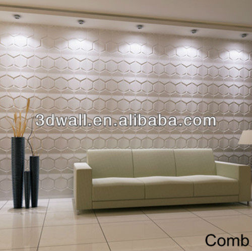 Interior wall decoration bamboo wallpanel