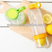 2014 hot selling lemon aqua citrus zinger water bottle in Korea