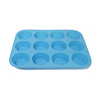 high quality mini hot cake round custom cake 3d bake silicon cake mold