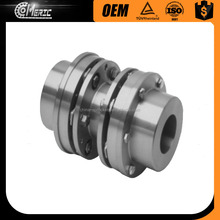 Good quality stainless steel / steel quick release disc type flexible shaft coupling