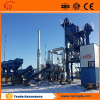 Stationary 80tph asphalt mixing plant,named road construction machinery