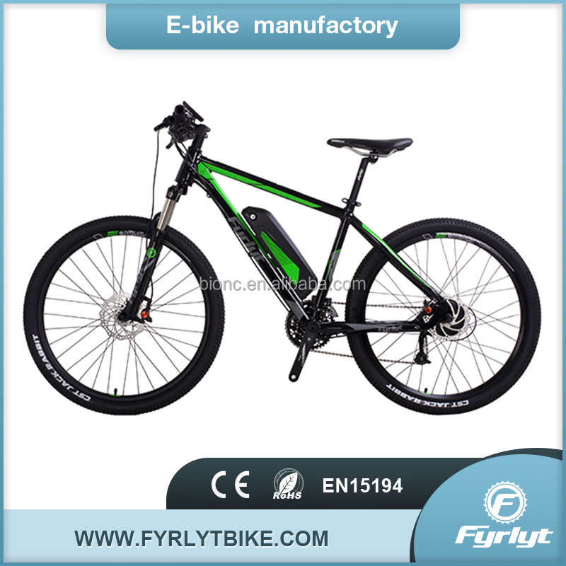 China made E bike 350w 48v rear brushless motor electric bicycle sale in bangladesh