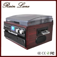 Rain Lane European Style Multi-function Radio/CD/LP/Cassette gramophone player with usb