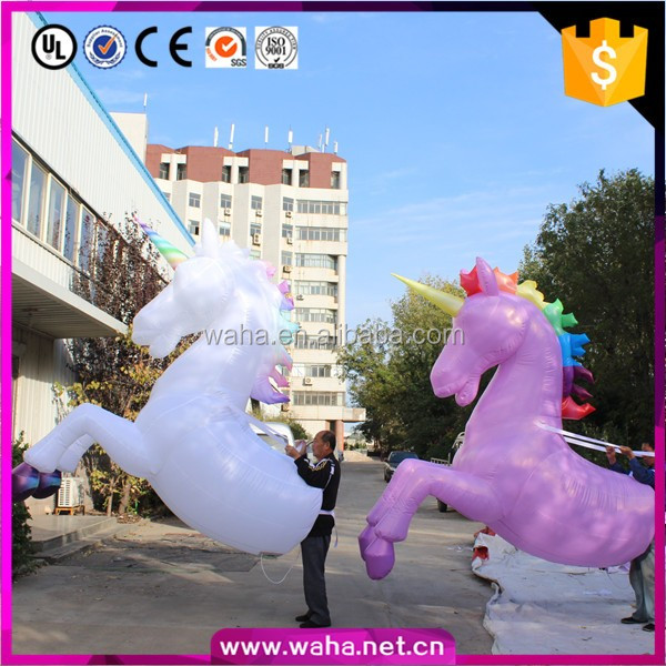 New Brand Unicorn Inflatable , Event Parade Inflatable,Parade Inflatable Cartoon W10809