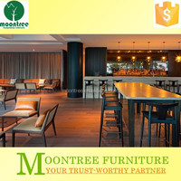 Moontree MLB-1318 corner wooden bar furniture for the home