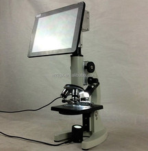 LCD screen student/childrens/kids biological compound microscope