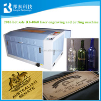 BT-4060 6040 MINI laser engraving machine for any non metal materials