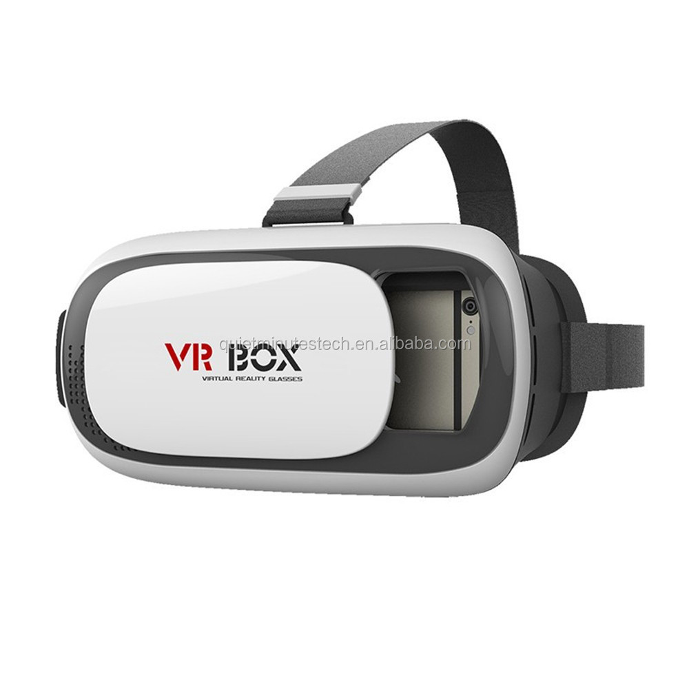 2016 Hot selling High Quality Real Virtual Google Cardboard Virtual Reality 3D VR Box Glasses