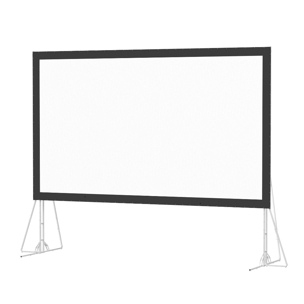 Large size outdoor portable fast fold projection screen