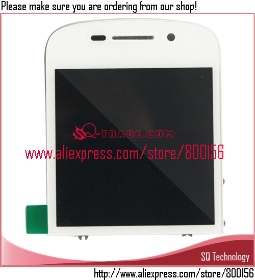 <strong>Mobile</strong> Phone Spare Parts for BlackBerry <strong>Q10</strong> LCD with Touch Screen Assembly