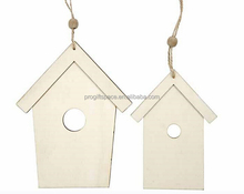 2017 hot Japanese handmade gift craft Xmas decor cheap wholesale ornament bird/dog/chickens/hamster wood house kit made in China