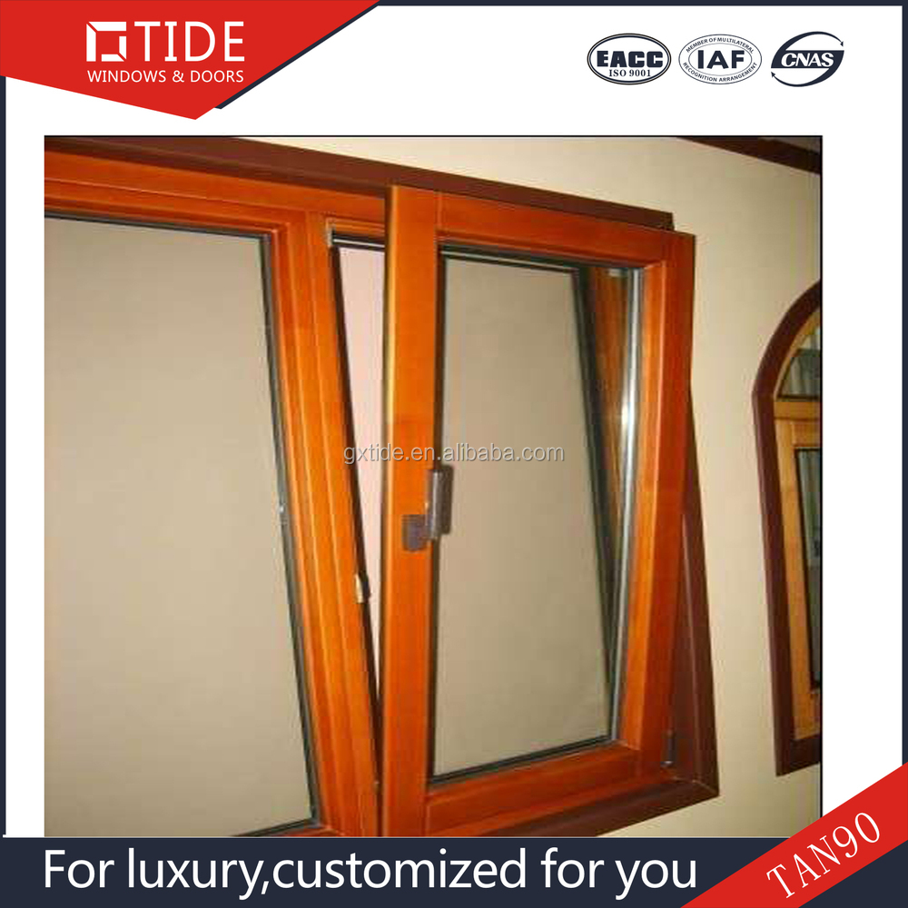 Nanning Tahenge building hurricane impact window/double pane window/Low-e glass windows