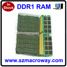 HongKong price tested long dimm 512mb ram ddr 400
