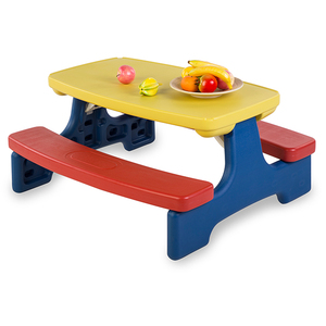 Outdoor Plastic Folding Activity Study Tables And Chairs