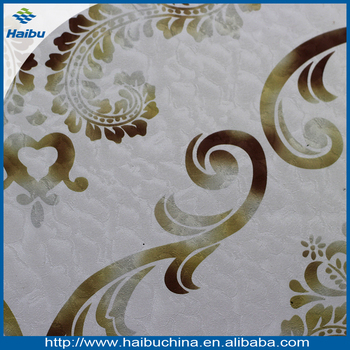 durable interior wall artificial leather material