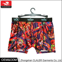 New design fashion show young boy brand boxers shorts sex man underwear