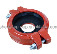 high pressure red color mechanical flexible coupling