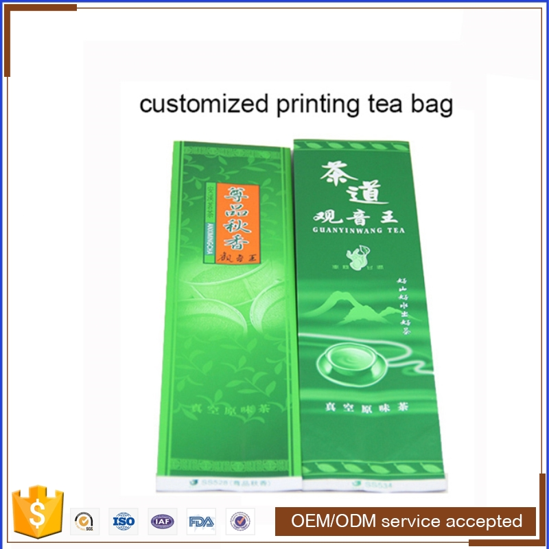 2017 bag plastic bag manufacturers green tea bag