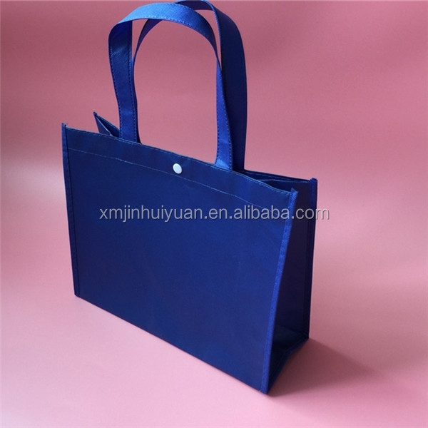 Laminated Non Woven Fastener Shopping Bag