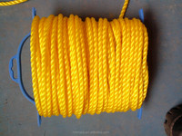 PE rope/pe twisted rope/pe 3-strand rope