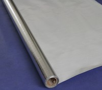 solar reflective heat shield woven insulation foil