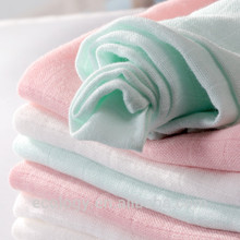 High quality 100% bamboo fiber for baby muslin blanket has OEKO certificate