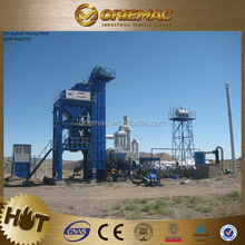 Mobile Asphalt Mixing Plant 40t/h Productivity