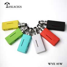 2018 wholesale price Teslacigs WYE 85W e vape box mod from TESLACIGS Manufacture