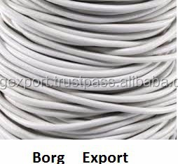 10mm Round Leather Cord From BORG EXPORT / Round Leather Cord 10 mm