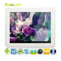 "Factory Price!! 9.7"" RK3188 1024x768 pixels tablet with HDMI Wifi Bluetooth 1GB +16GB S98."