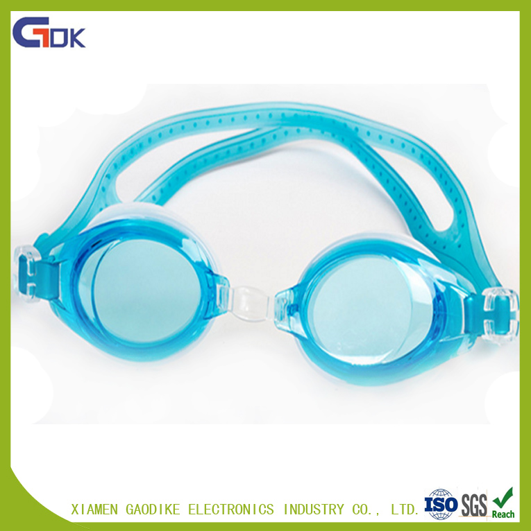 Wholesale waterpoof silicone kids swim goggles children swimming goggles