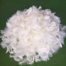 Cheap natural filling material white duck feather