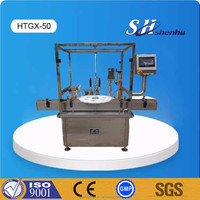 Customized packaging fully automatic e liquid filling capping machine