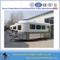 Three Horse Angle Load Float horse car carrying trailer