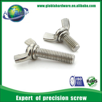 Wing head bolt, bolt with wing nut, wing bolt